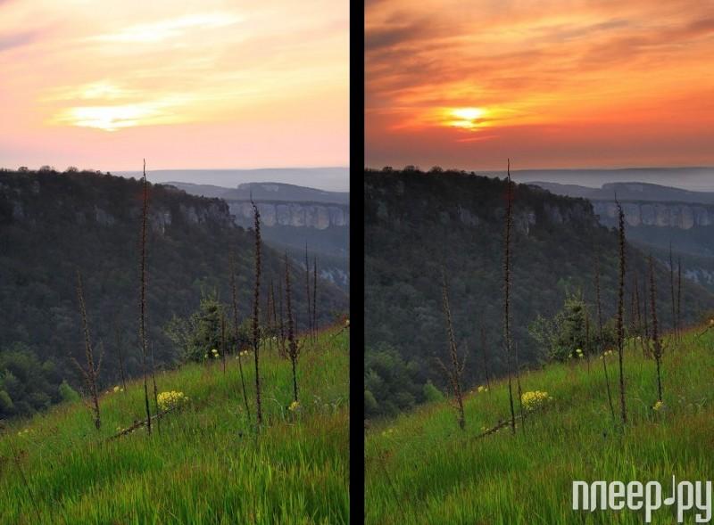 специалисты фото до и после оранжевого светофильтра просто
